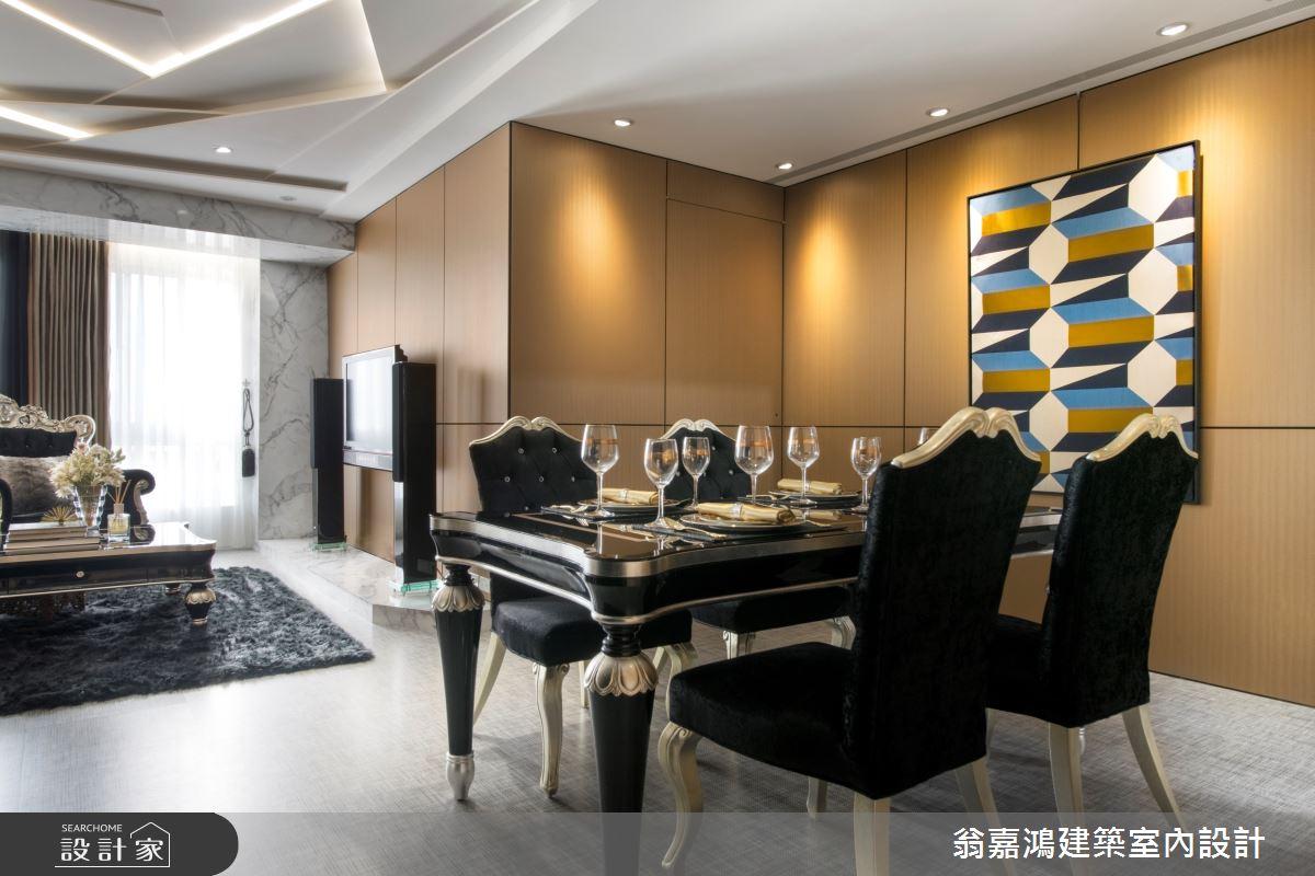 40坪老屋(16~30年)_奢華風案例圖片_翁嘉鴻建築室內設計_懷生_35.板橋-E House之2