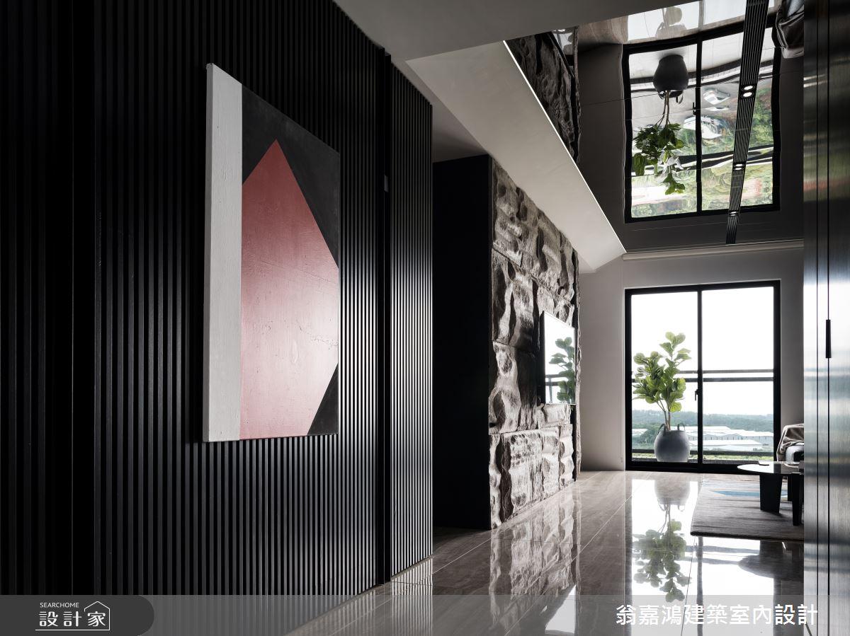 90坪新成屋(5年以下)_現代風案例圖片_翁嘉鴻建築室內設計_懷生_林口-C House之1