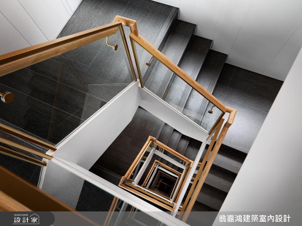 220坪新成屋(5年以下)_混搭風案例圖片_翁嘉鴻建築室內設計_懷生_45.天母-Y House-私領域之3
