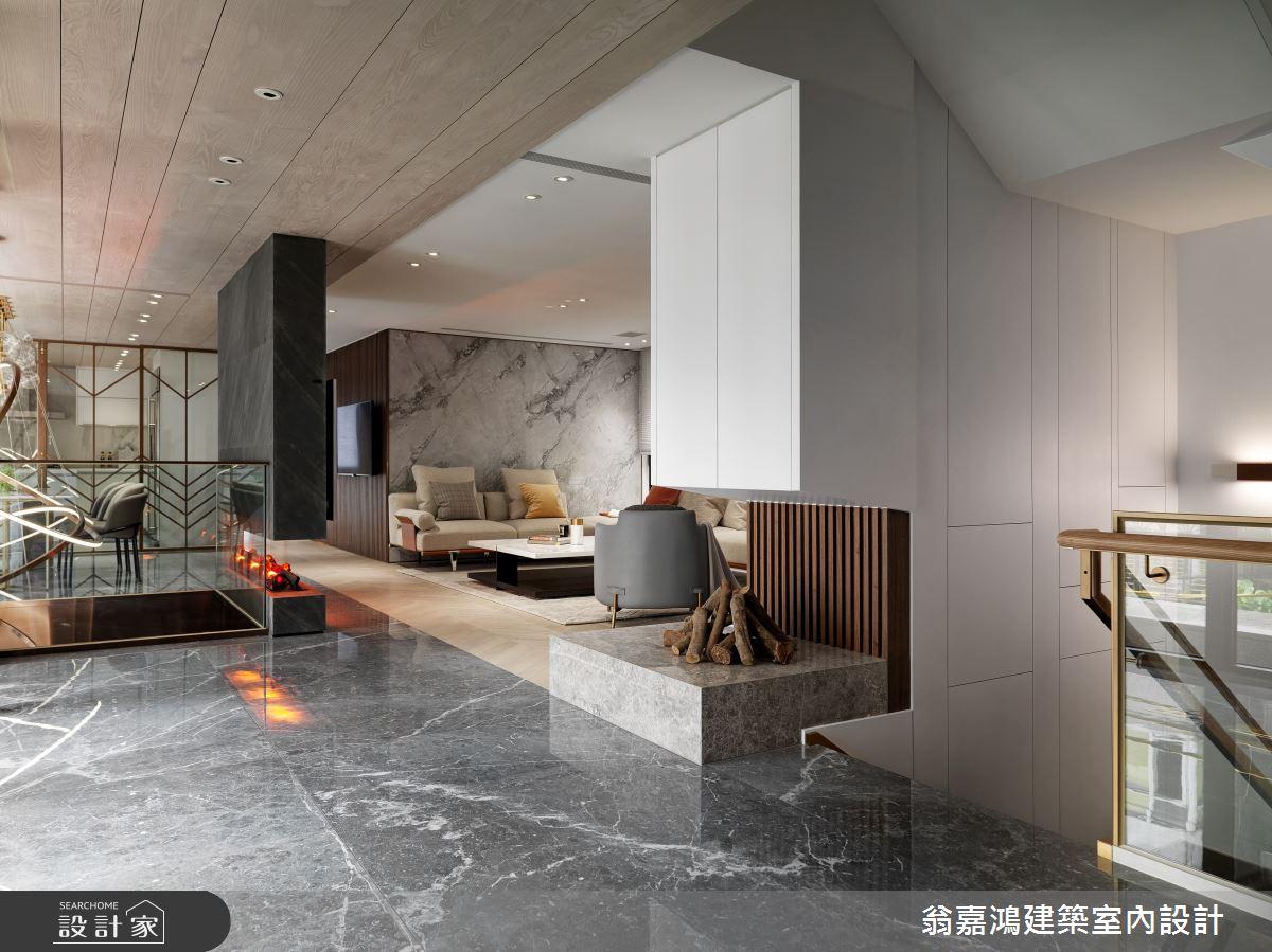 220坪新成屋(5年以下)_混搭風案例圖片_翁嘉鴻建築室內設計_懷生_45.天母-Y House-私領域之5