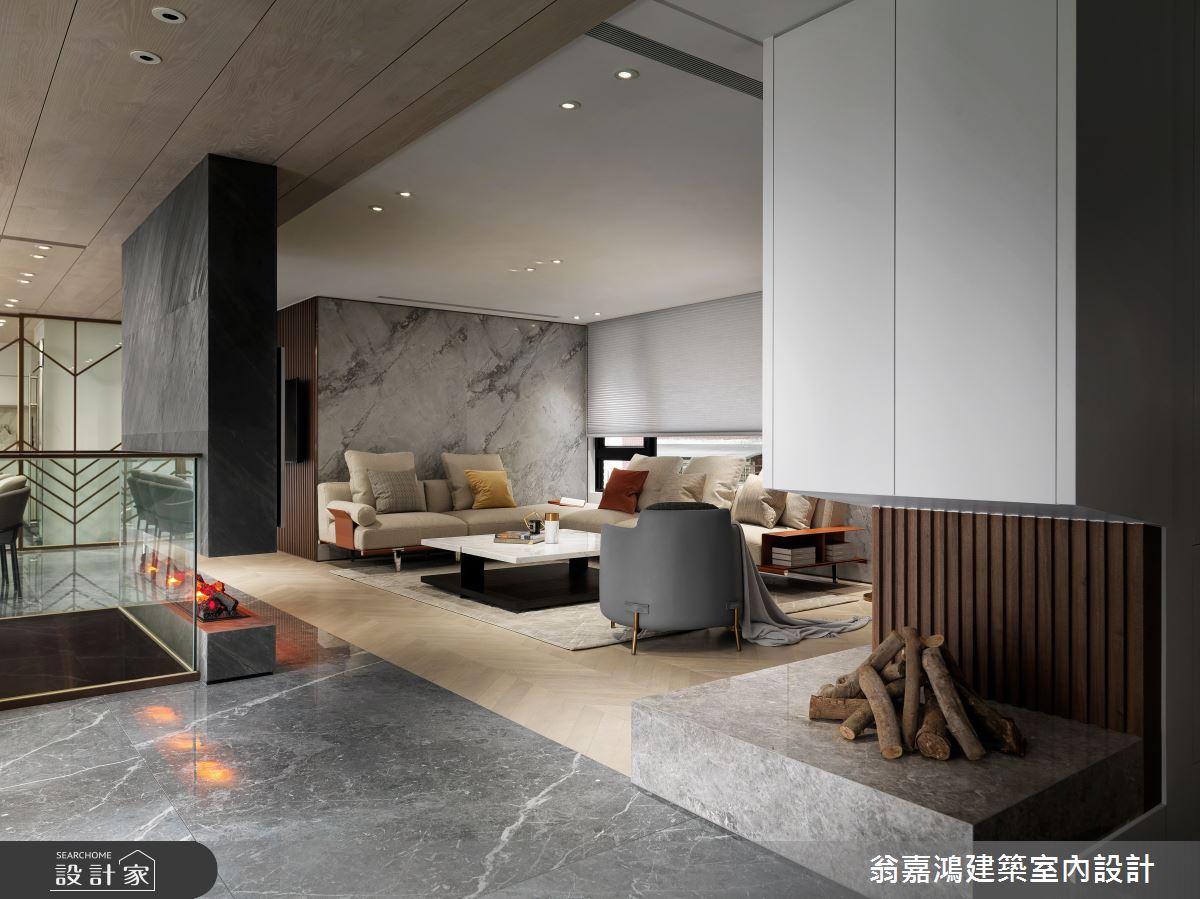 220坪新成屋(5年以下)_混搭風案例圖片_翁嘉鴻建築室內設計_懷生_45.天母-Y House-私領域之6