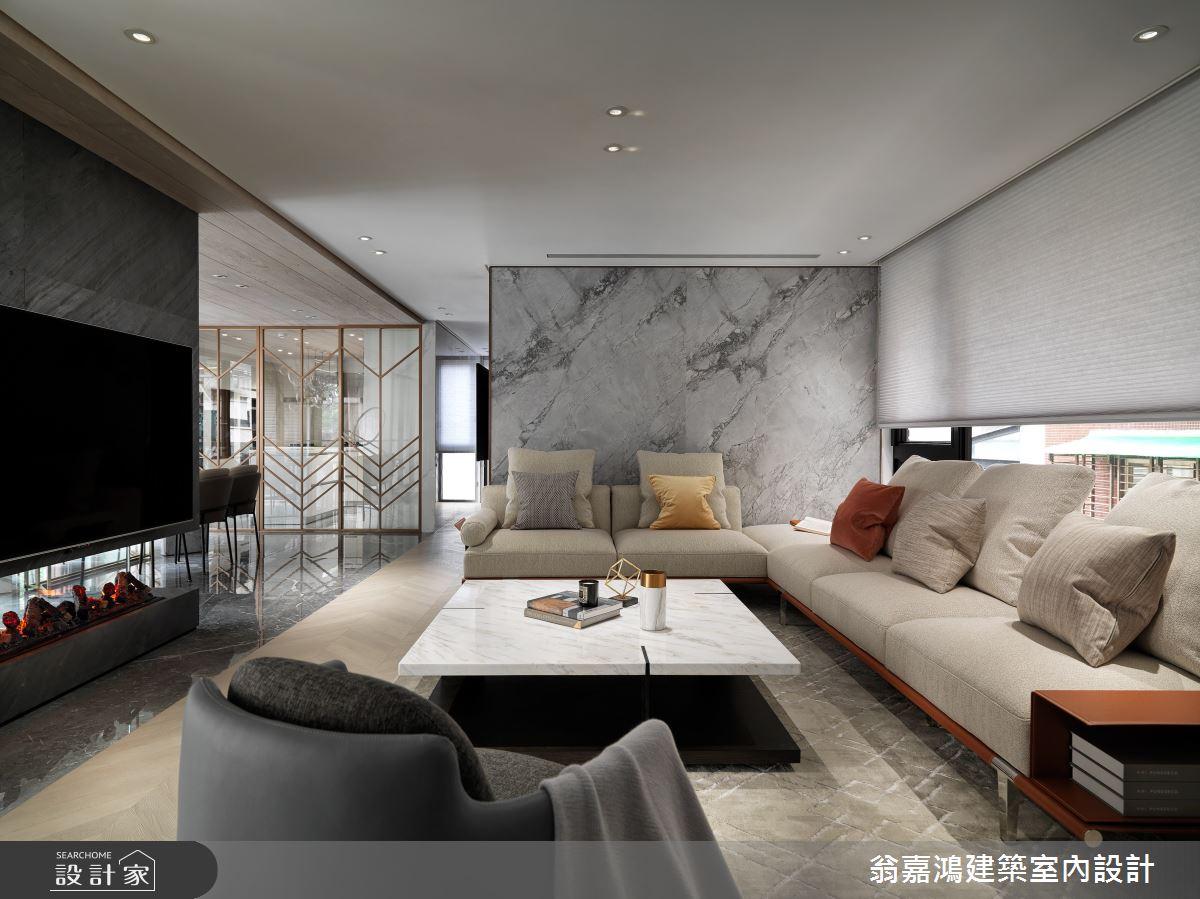 220坪新成屋(5年以下)_混搭風案例圖片_翁嘉鴻建築室內設計_懷生_45.天母-Y House-私領域之7