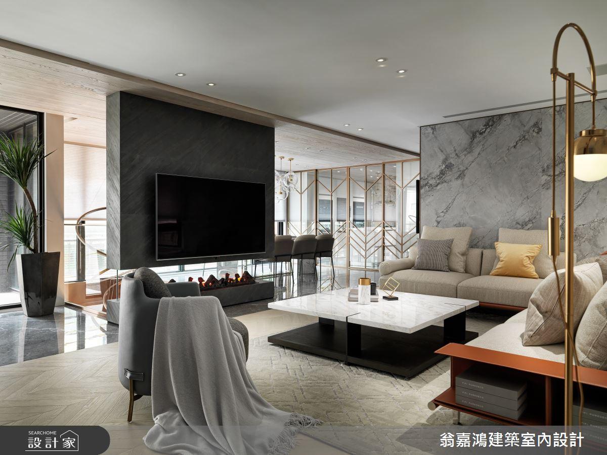 220坪新成屋(5年以下)_混搭風案例圖片_翁嘉鴻建築室內設計_懷生_45.天母-Y House-私領域之8