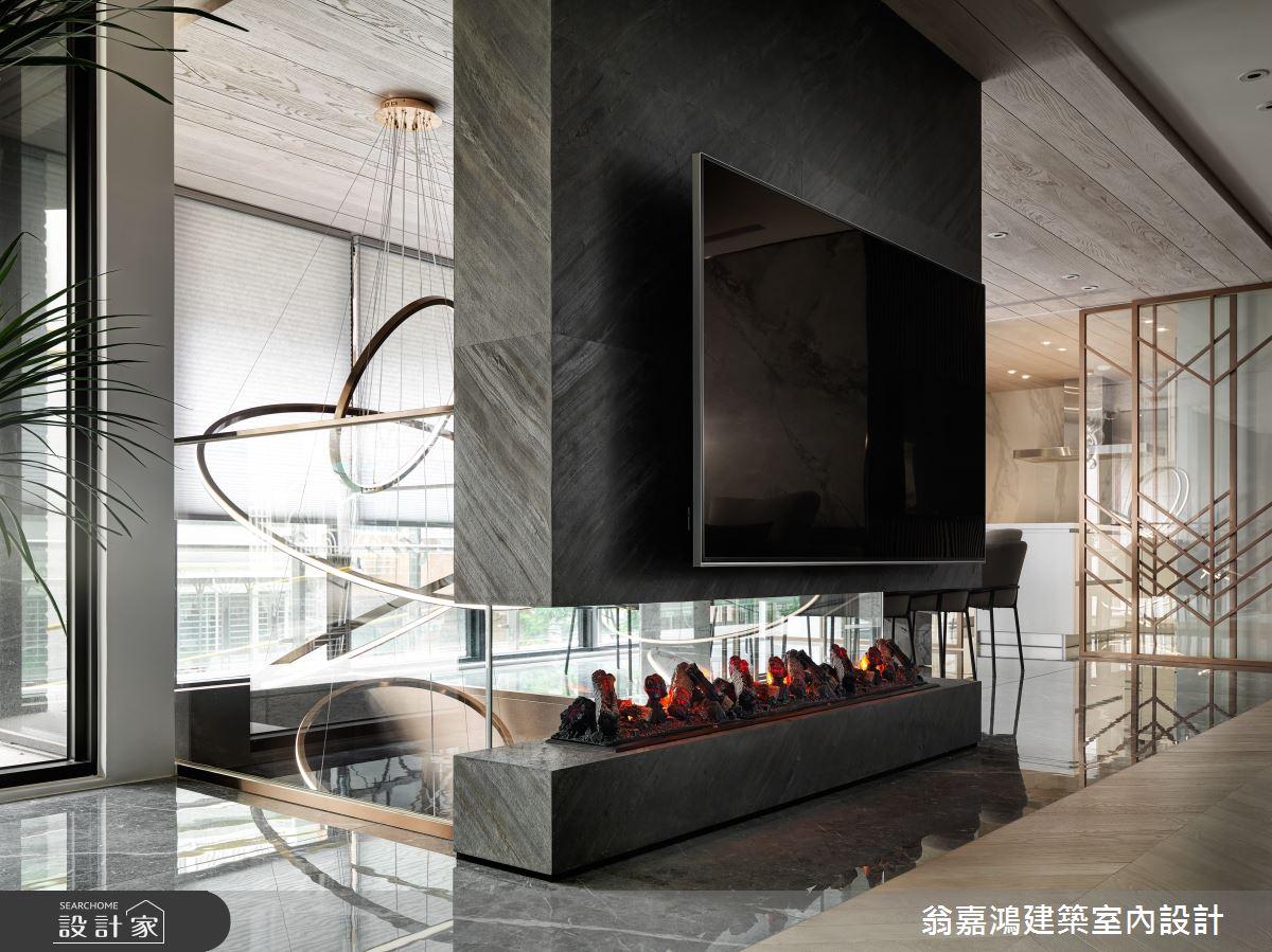 220坪新成屋(5年以下)_混搭風案例圖片_翁嘉鴻建築室內設計_懷生_45.天母-Y House-私領域之9