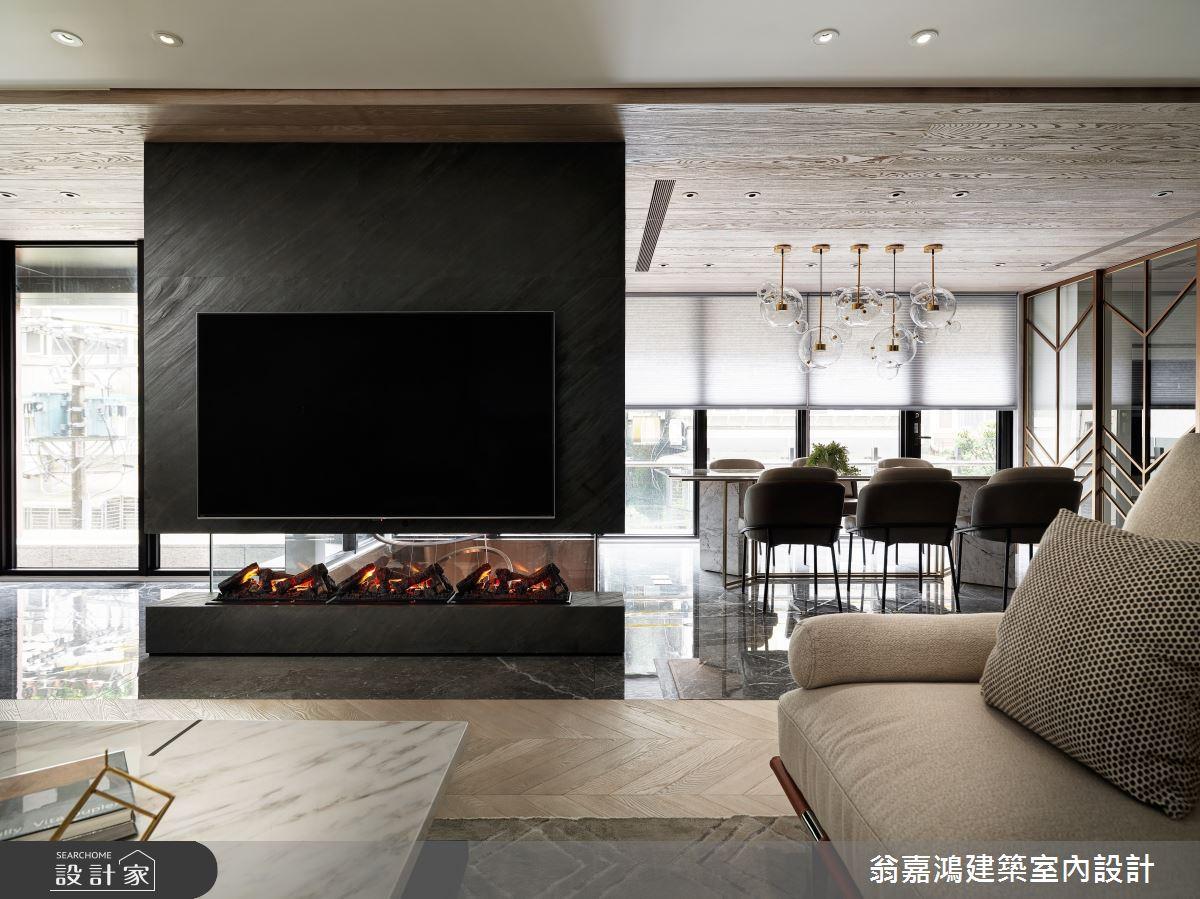 220坪新成屋(5年以下)_混搭風案例圖片_翁嘉鴻建築室內設計_懷生_45.天母-Y House-私領域之10