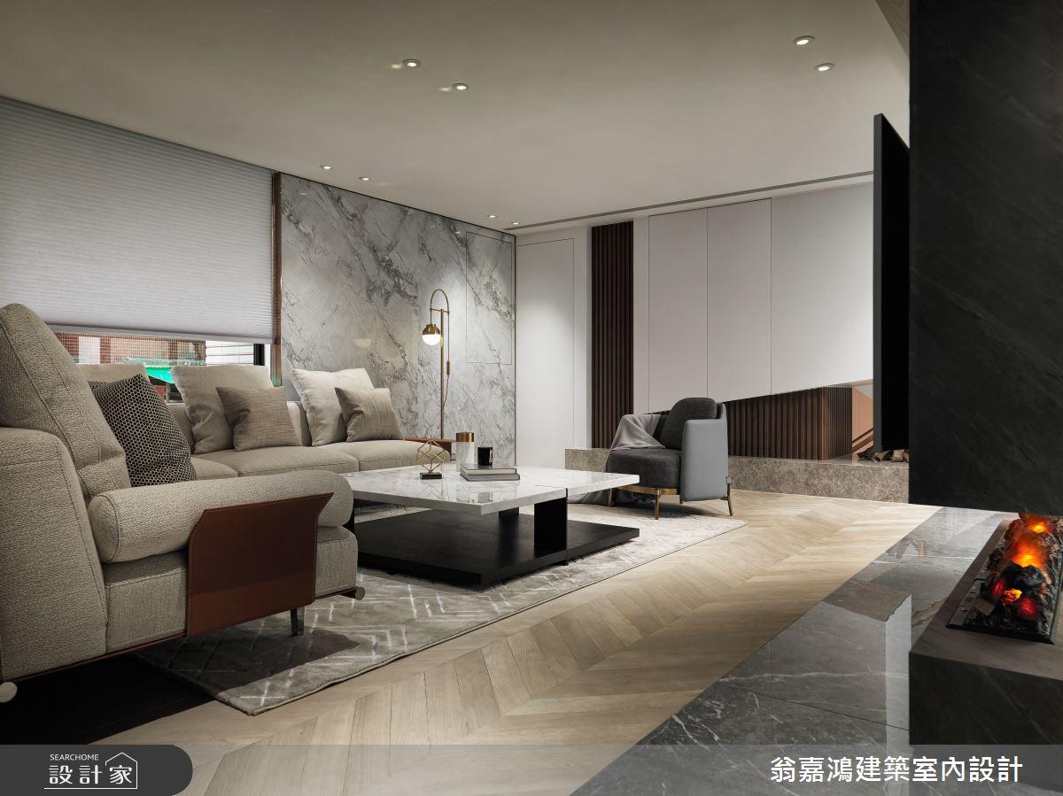 220坪新成屋(5年以下)_混搭風案例圖片_翁嘉鴻建築室內設計_懷生_45.天母-Y House-私領域之11