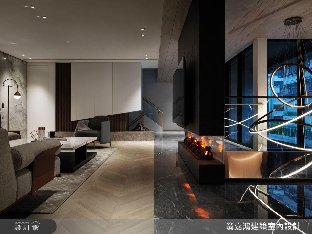 220坪新成屋(5年以下)_混搭風案例圖片_翁嘉鴻建築室內設計_懷生_45.天母-Y House-私領域之12