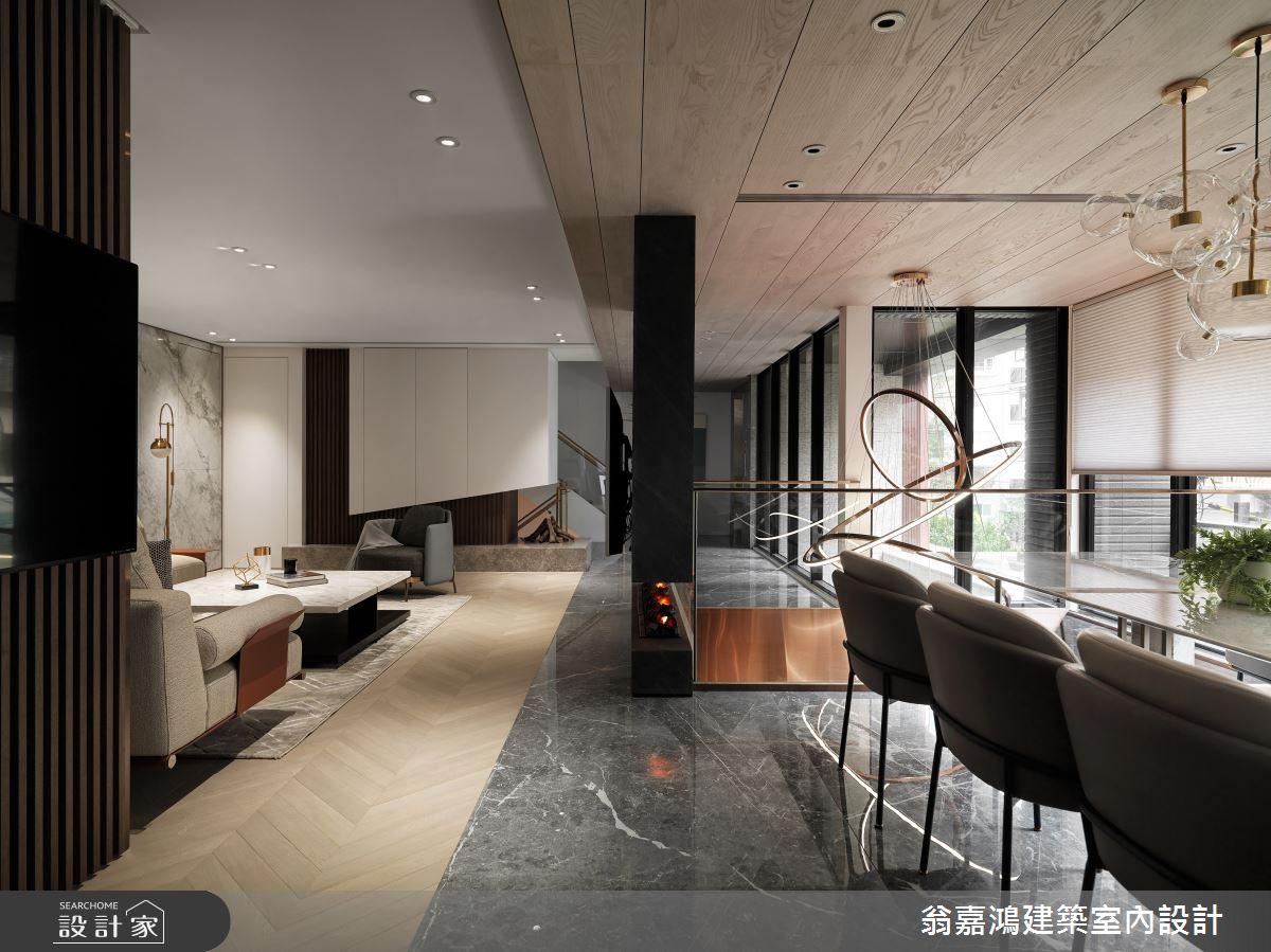 220坪新成屋(5年以下)_混搭風案例圖片_翁嘉鴻建築室內設計_懷生_45.天母-Y House-私領域之13