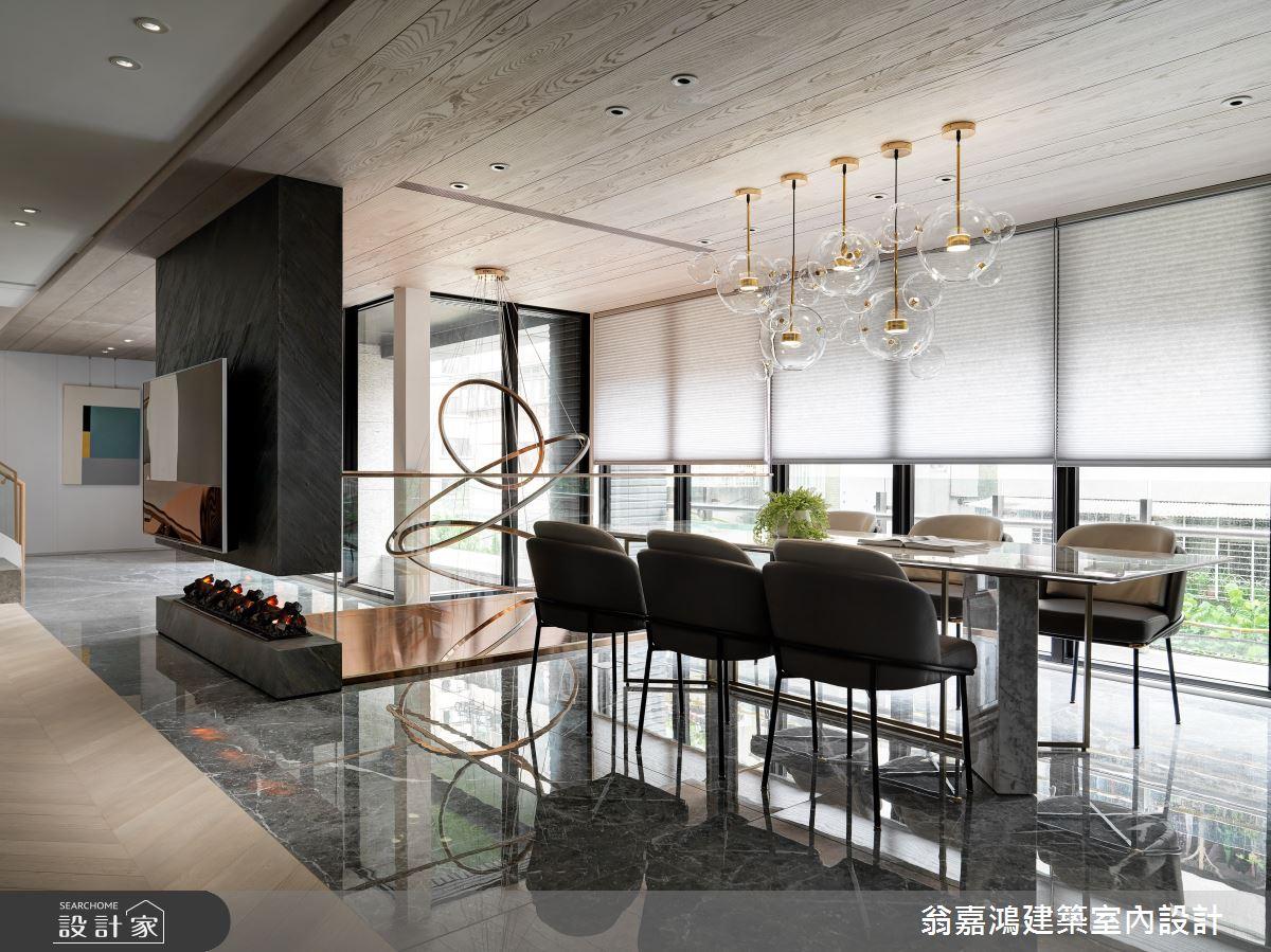 220坪新成屋(5年以下)_混搭風案例圖片_翁嘉鴻建築室內設計_懷生_45.天母-Y House-私領域之14