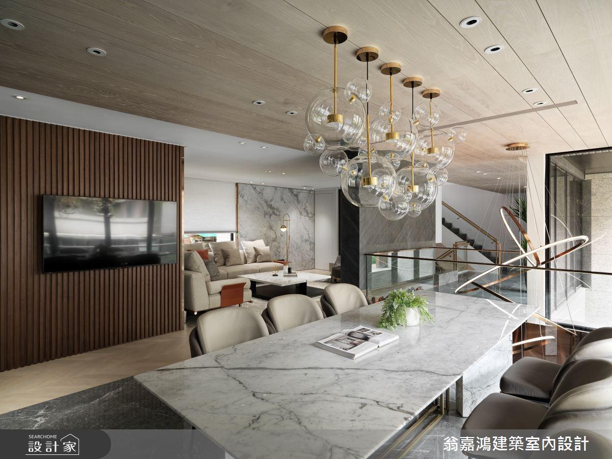 220坪新成屋(5年以下)_混搭風案例圖片_翁嘉鴻建築室內設計_懷生_45.天母-Y House-私領域之15
