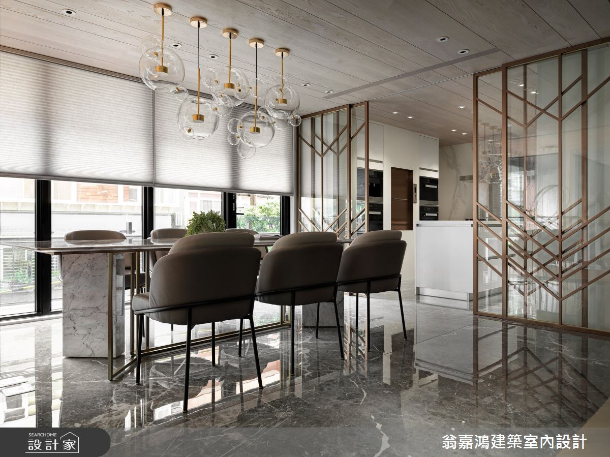 220坪新成屋(5年以下)_混搭風案例圖片_翁嘉鴻建築室內設計_懷生_45.天母-Y House-私領域之16
