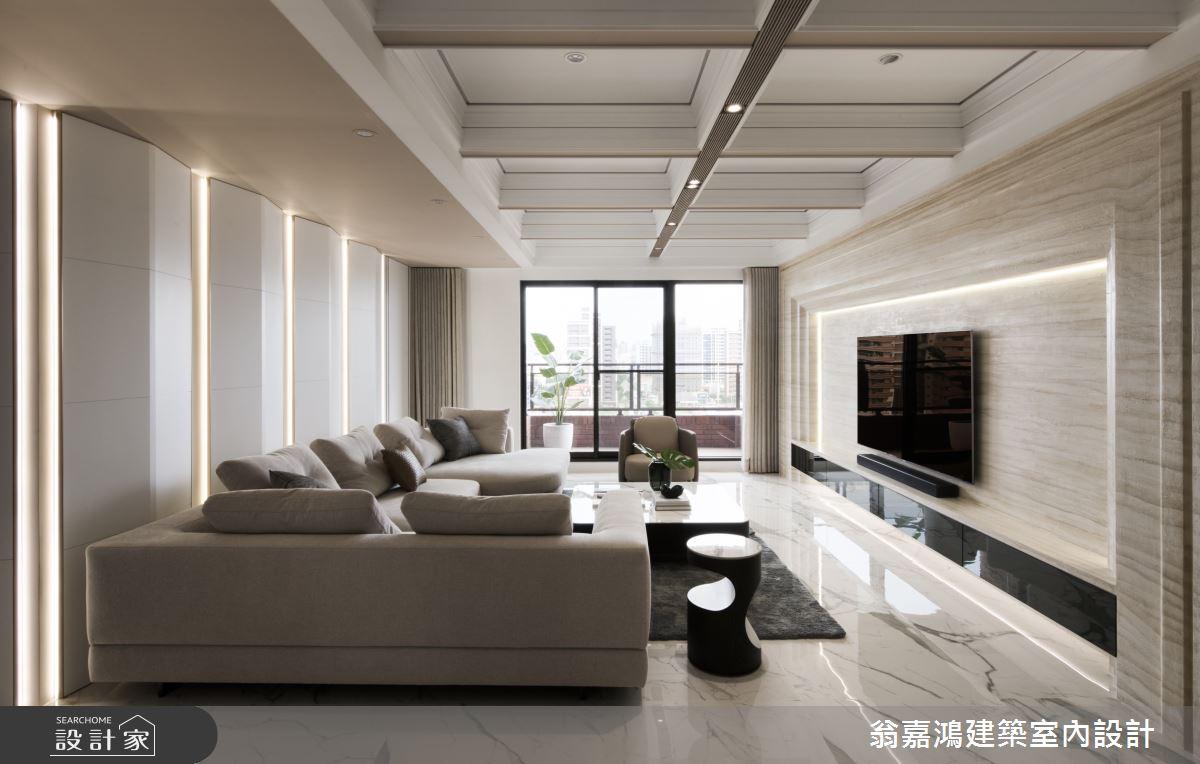 50坪新成屋(5年以下)_北歐風案例圖片_翁嘉鴻建築室內設計_懷生_Y House-中悅之3