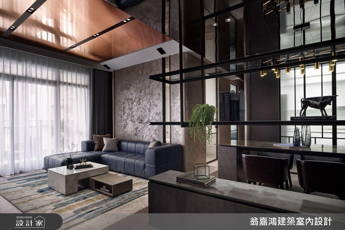 40坪新成屋(5年以下)_現代風案例圖片_翁嘉鴻建築室內設計_懷生_49.新莊-J House之1