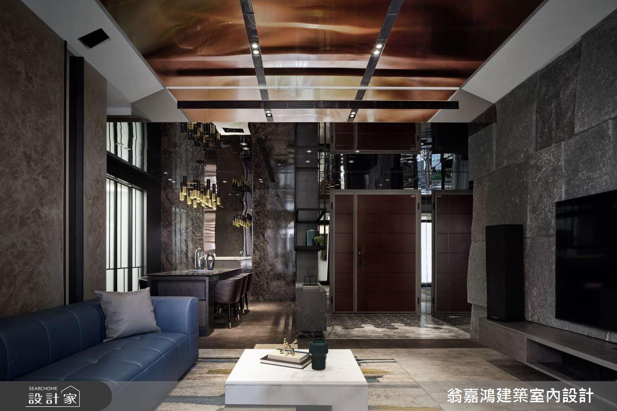40坪新成屋(5年以下)_現代風案例圖片_翁嘉鴻建築室內設計_懷生_49.新莊-J House之4