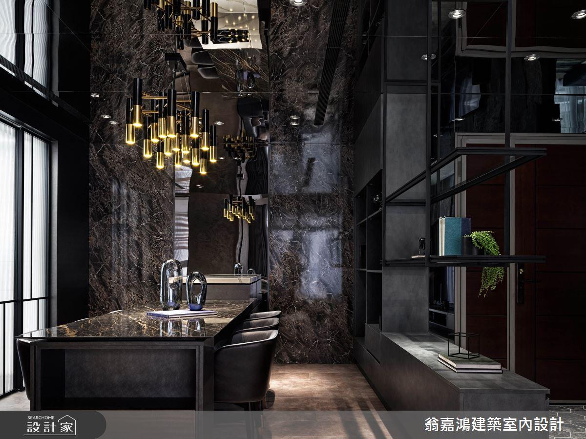 40坪新成屋(5年以下)_現代風案例圖片_翁嘉鴻建築室內設計_懷生_49.新莊-J House之5
