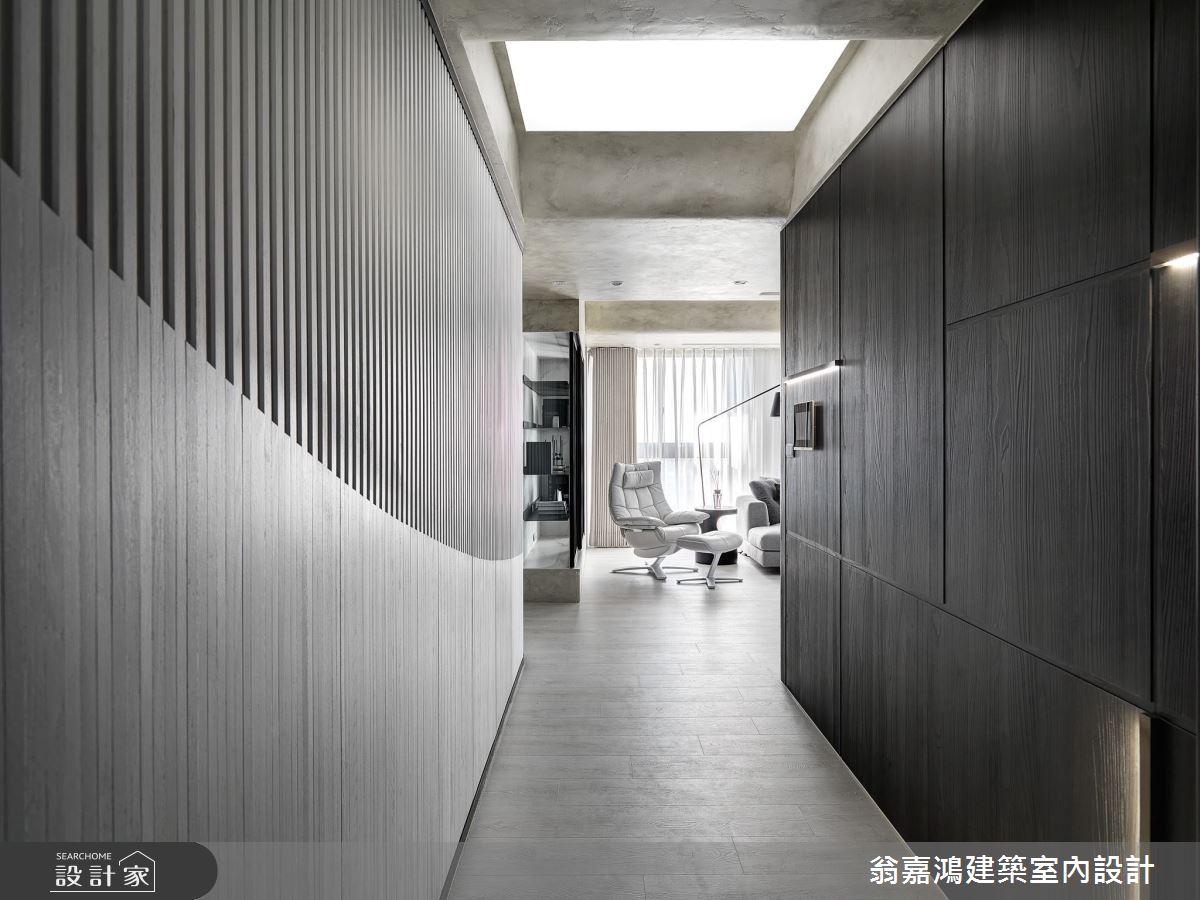50坪新成屋(5年以下)_現代風案例圖片_翁嘉鴻建築室內設計_懷生_50.台中-KY House之1