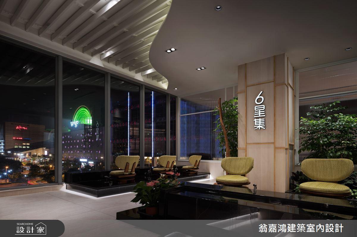 180坪新成屋(5年以下)_飯店風商業空間案例圖片_翁嘉鴻建築室內設計_懷生_六星集按摩會館-大直館之3