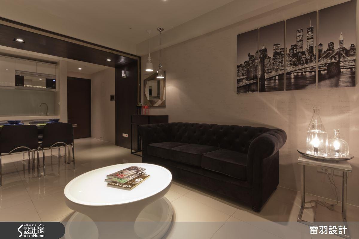 17坪新成屋(5年以下)_現代風客廳案例圖片_雷羽設計_雷羽_03之3