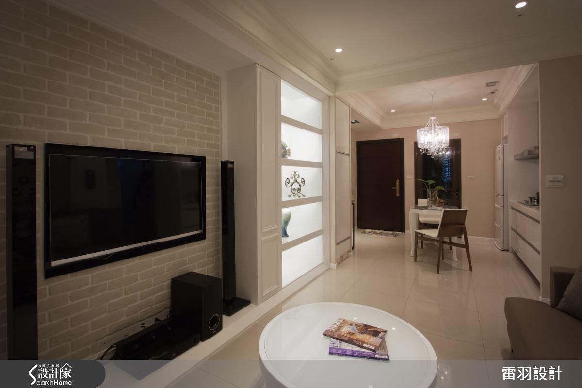 17坪新成屋(5年以下)_新古典客廳案例圖片_雷羽設計_雷羽_04之3