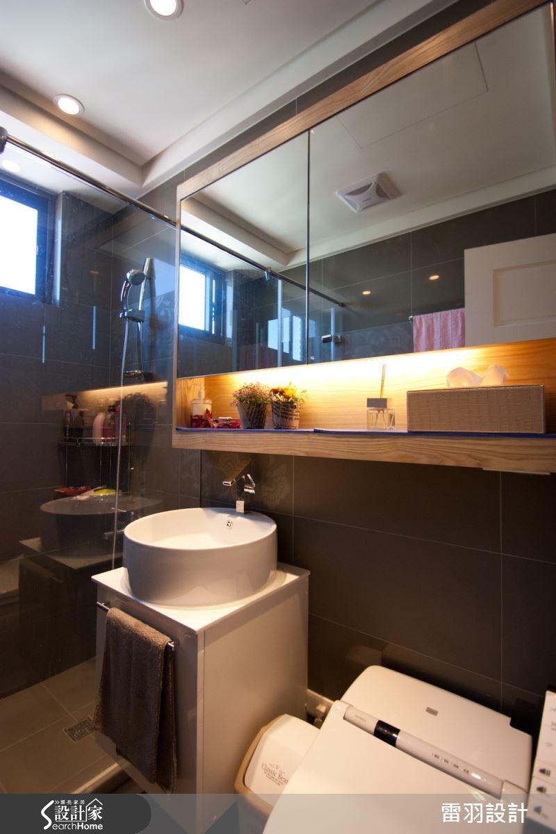 17坪新成屋(5年以下)_新古典浴室案例圖片_雷羽設計_雷羽_04之7