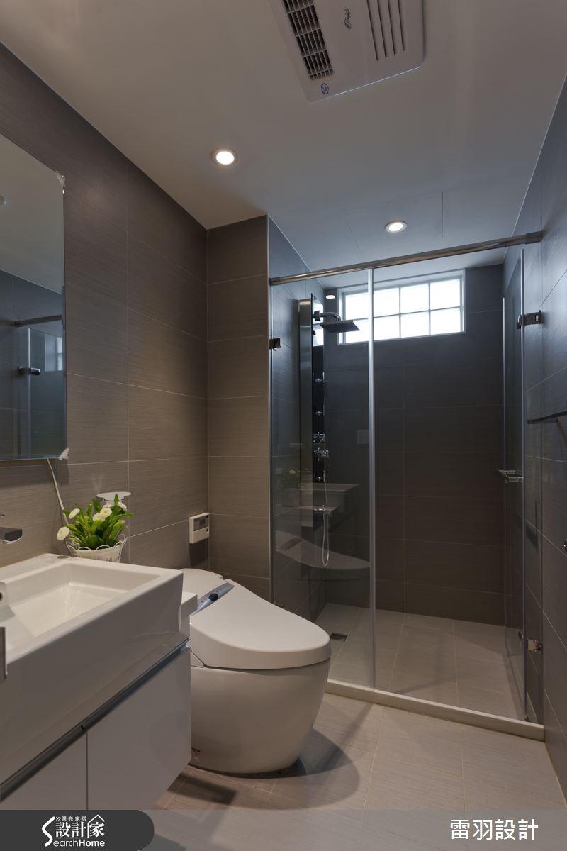 17坪新成屋(5年以下)_鄉村風浴室案例圖片_雷羽設計_雷羽_05之9