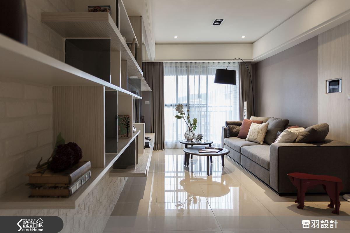 16坪新成屋(5年以下)_現代風客廳案例圖片_雷羽設計_雷羽_08之4