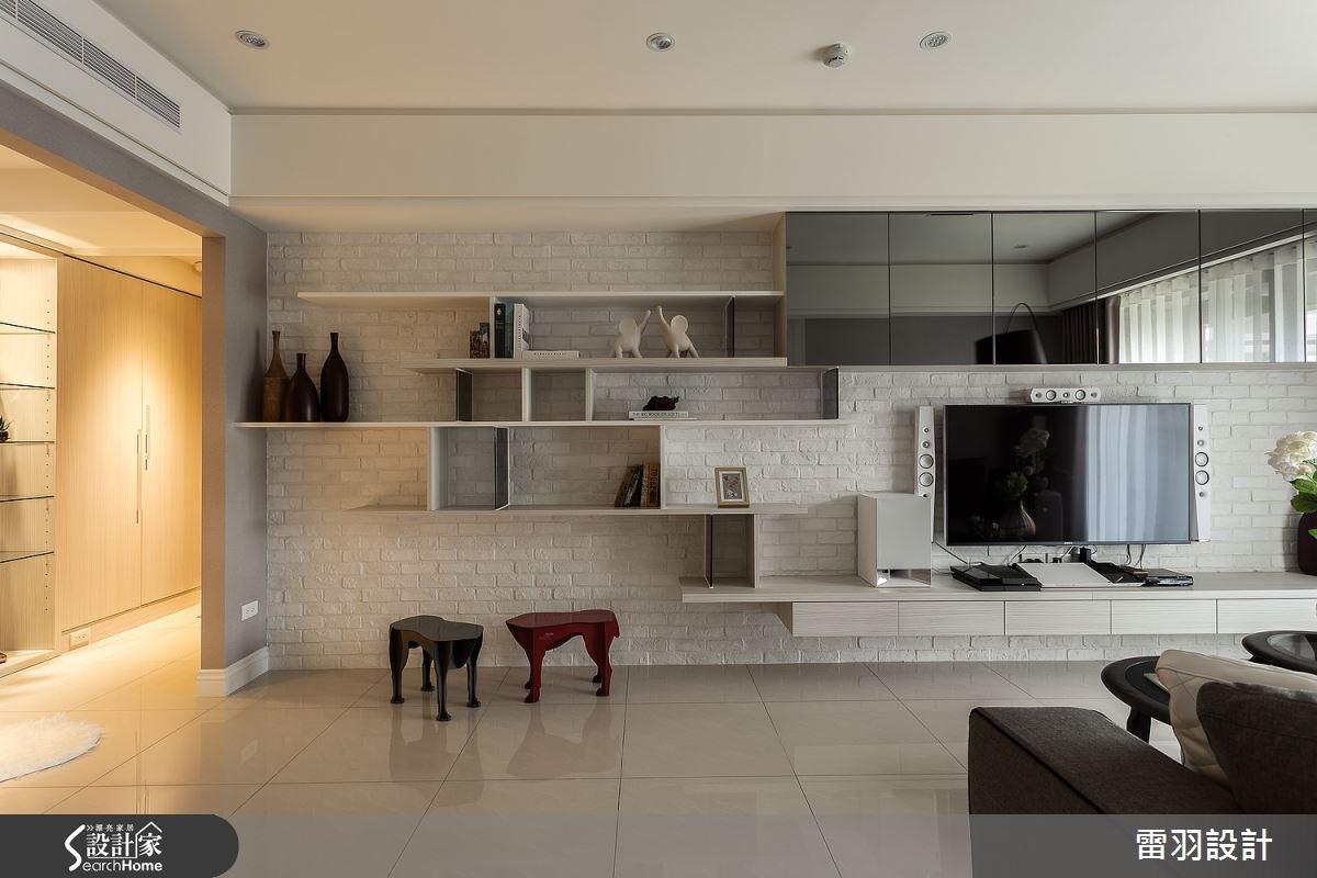 16坪新成屋(5年以下)_現代風客廳案例圖片_雷羽設計_雷羽_08之7