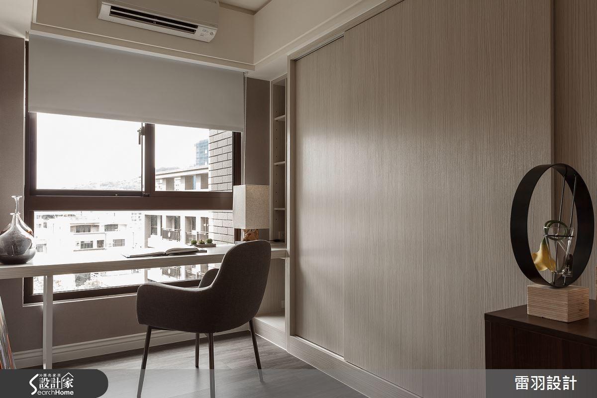 16坪新成屋(5年以下)_現代風書房案例圖片_雷羽設計_雷羽_08之12