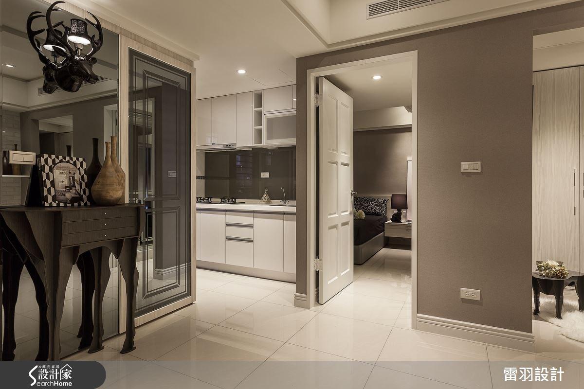 16坪新成屋(5年以下)_現代風廚房案例圖片_雷羽設計_雷羽_08之16