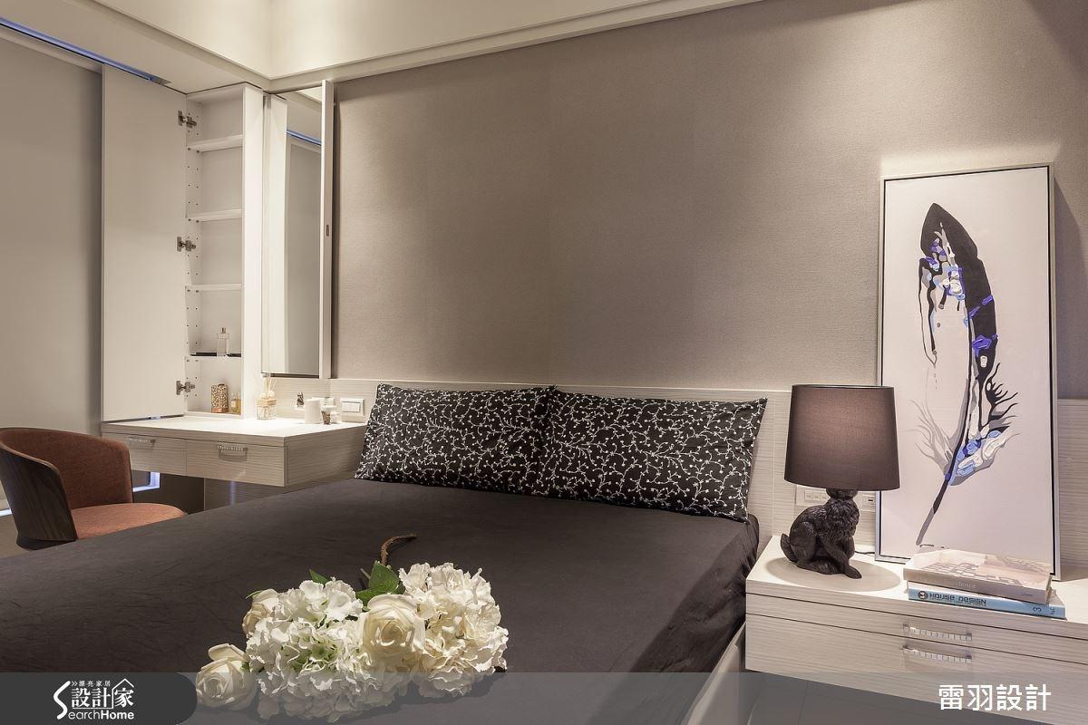 16坪新成屋(5年以下)_現代風臥室案例圖片_雷羽設計_雷羽_08之19