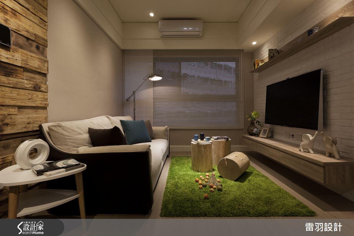16坪新成屋(5年以下)_北歐風客廳案例圖片_雷羽設計_雷羽_09之2