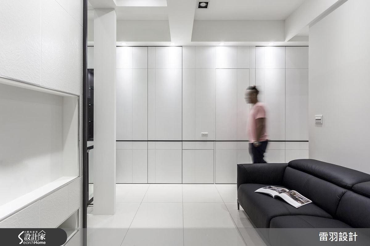 13坪新成屋(5年以下)_現代風客廳案例圖片_雷羽設計_雷羽_14之2