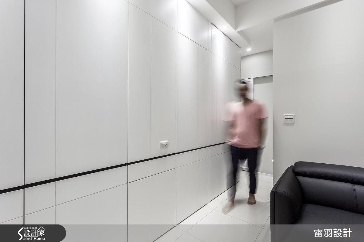 13坪新成屋(5年以下)_現代風客廳案例圖片_雷羽設計_雷羽_14之3