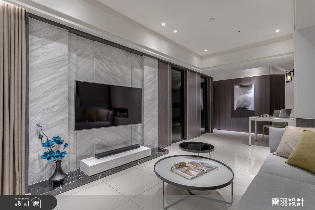 隱性收納打造時尚生活! 獻給小倆口的 25 坪現代極簡新婚宅