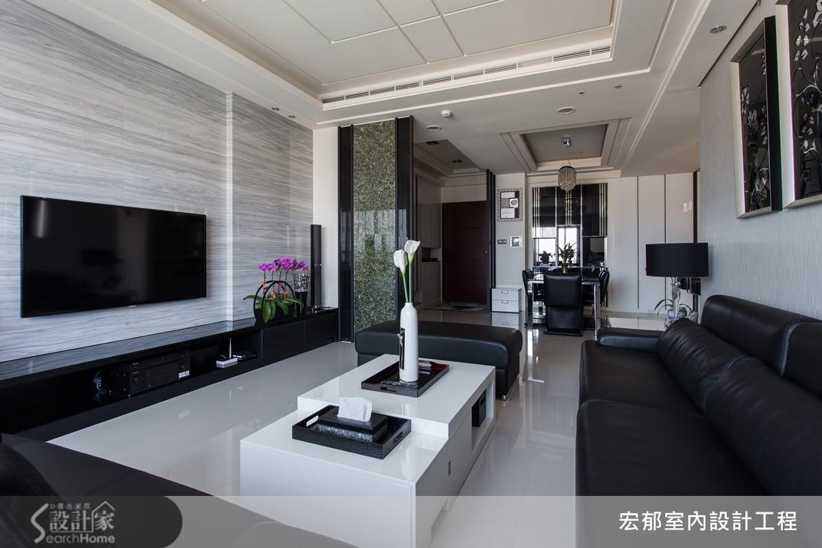 40坪新成屋(5年以下)_現代風案例圖片_宏郁空間美學_宏郁_02之3