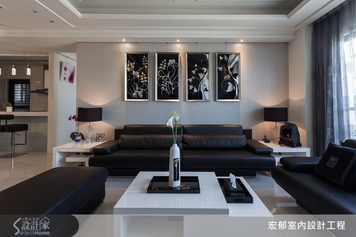 40坪新成屋(5年以下)_現代風案例圖片_宏郁空間美學_宏郁_02之4