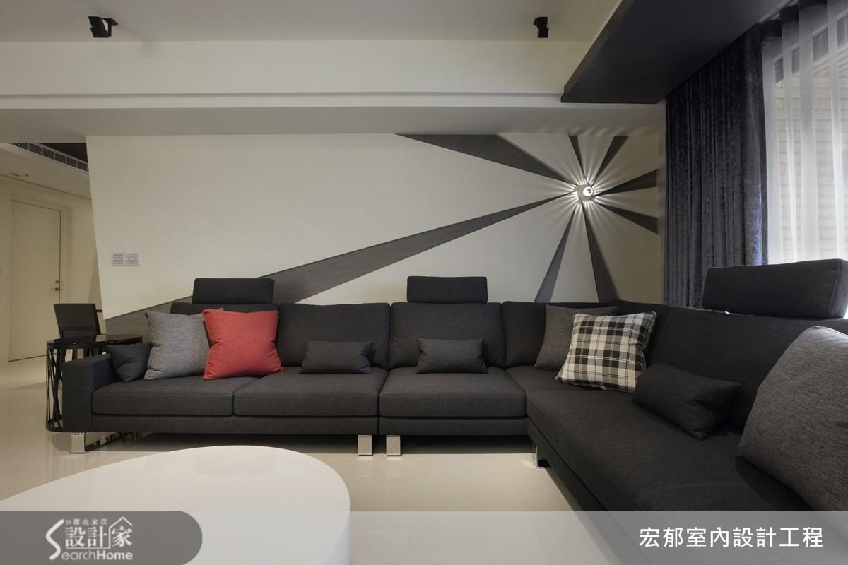 50坪新成屋(5年以下)_現代風案例圖片_宏郁空間美學_宏郁_05之11