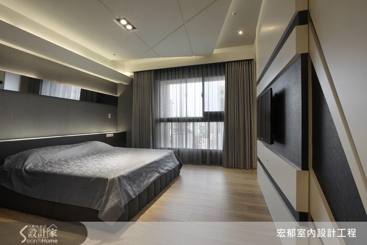 50坪新成屋(5年以下)_現代風案例圖片_宏郁空間美學_宏郁_05之19