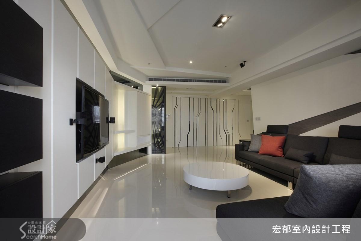 50坪新成屋(5年以下)_現代風案例圖片_宏郁空間美學_宏郁_05之10