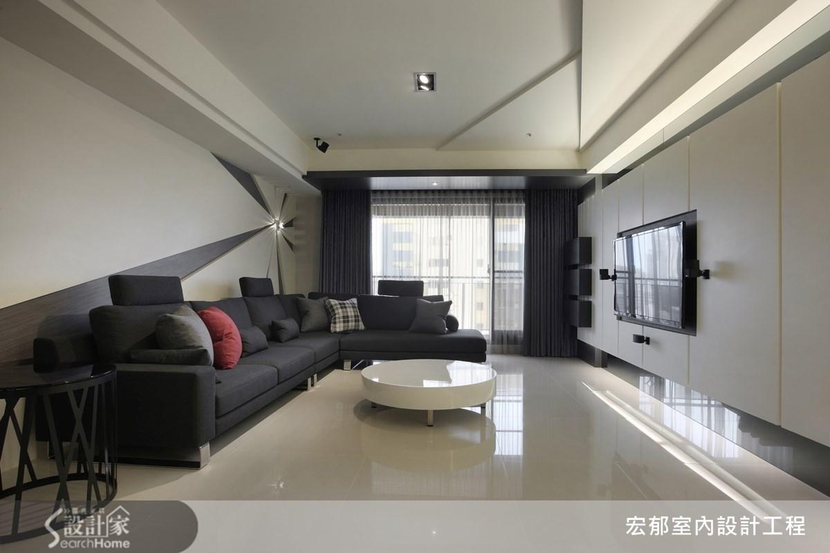 50坪新成屋(5年以下)_現代風案例圖片_宏郁空間美學_宏郁_05之7
