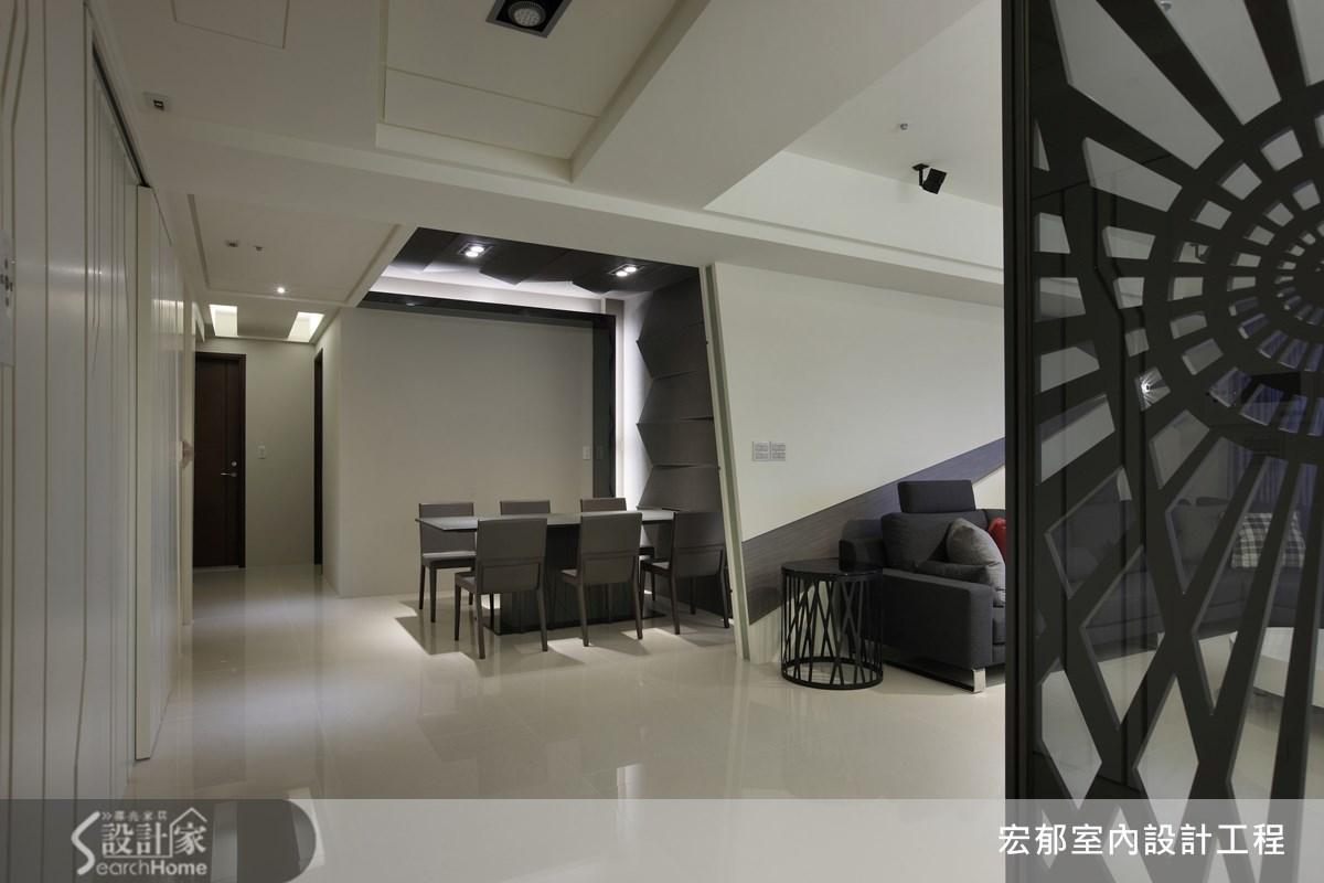 50坪新成屋(5年以下)_現代風案例圖片_宏郁空間美學_宏郁_05之14