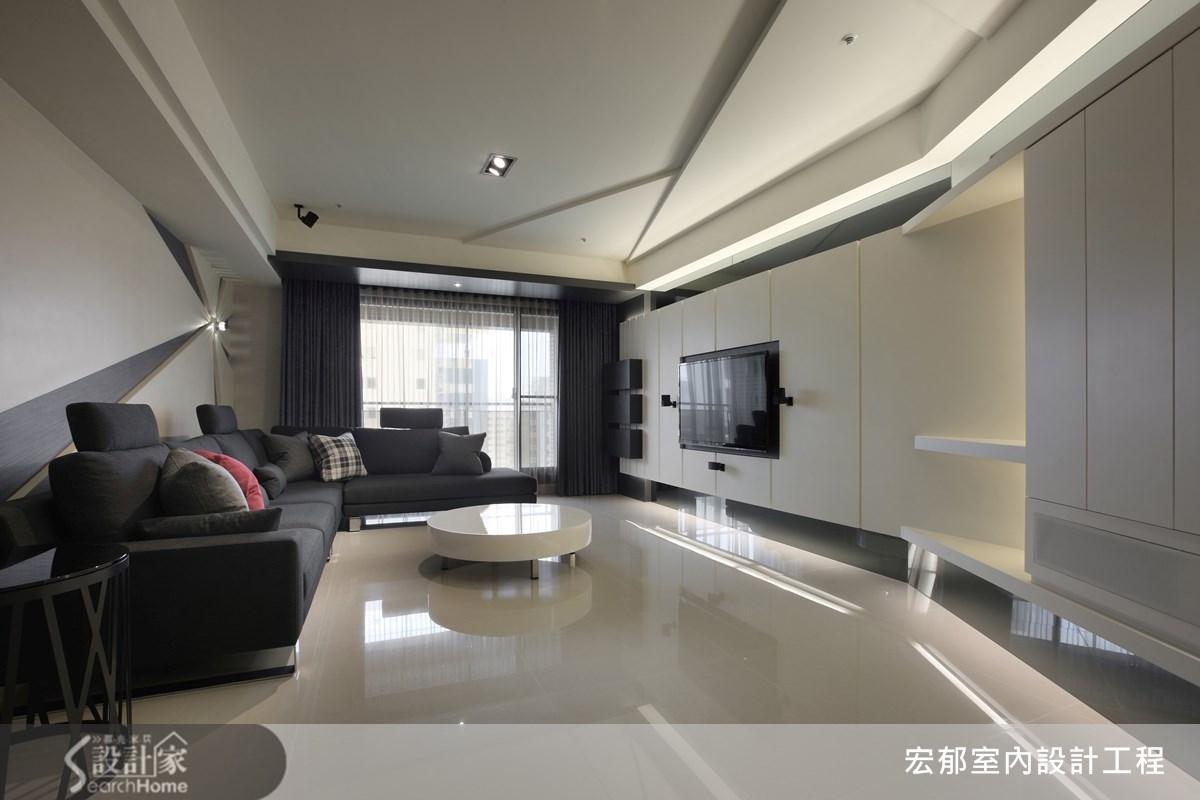 50坪新成屋(5年以下)_現代風案例圖片_宏郁空間美學_宏郁_05之6