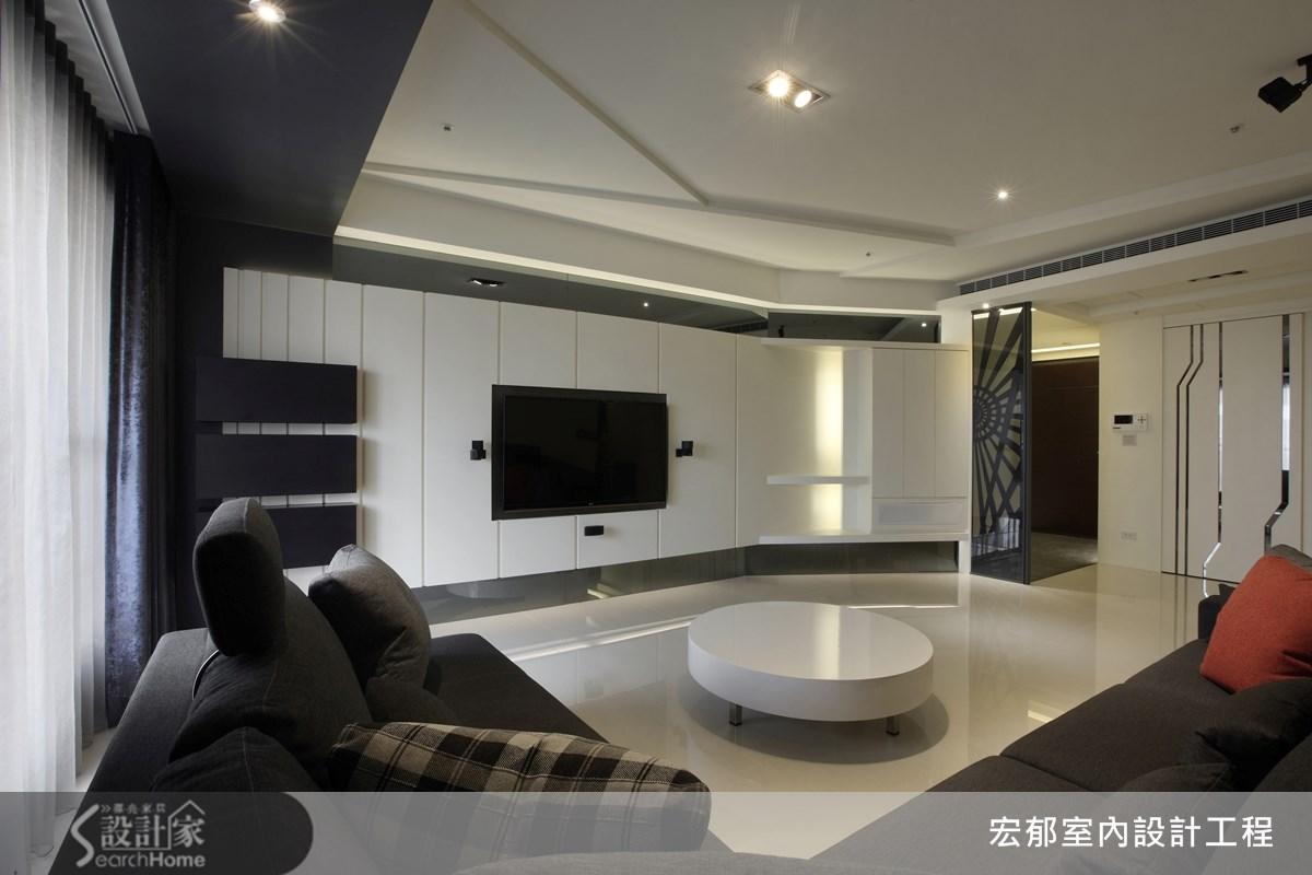 50坪新成屋(5年以下)_現代風案例圖片_宏郁空間美學_宏郁_05之9
