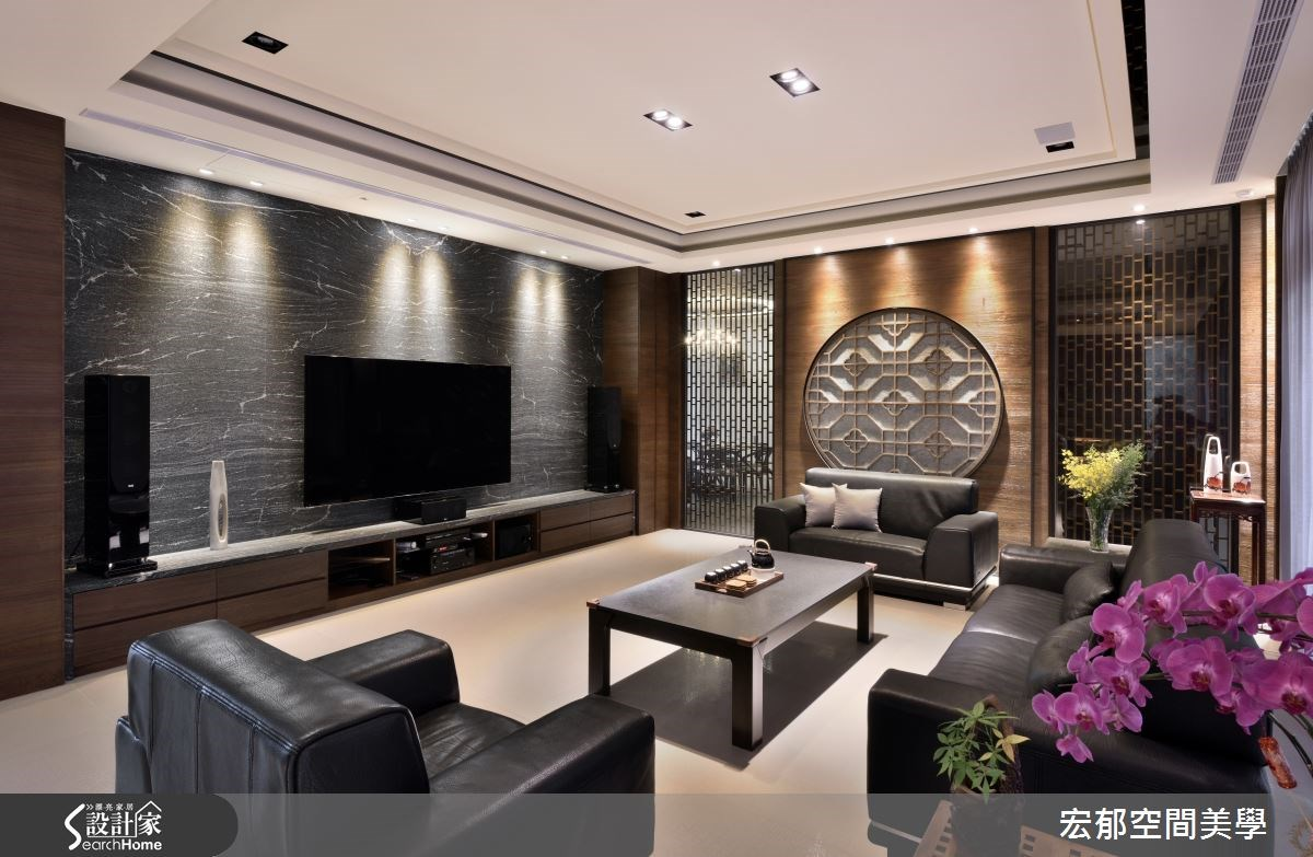 117坪新成屋(5年以下)_新中式風案例圖片_宏郁空間美學_宏郁_15之3