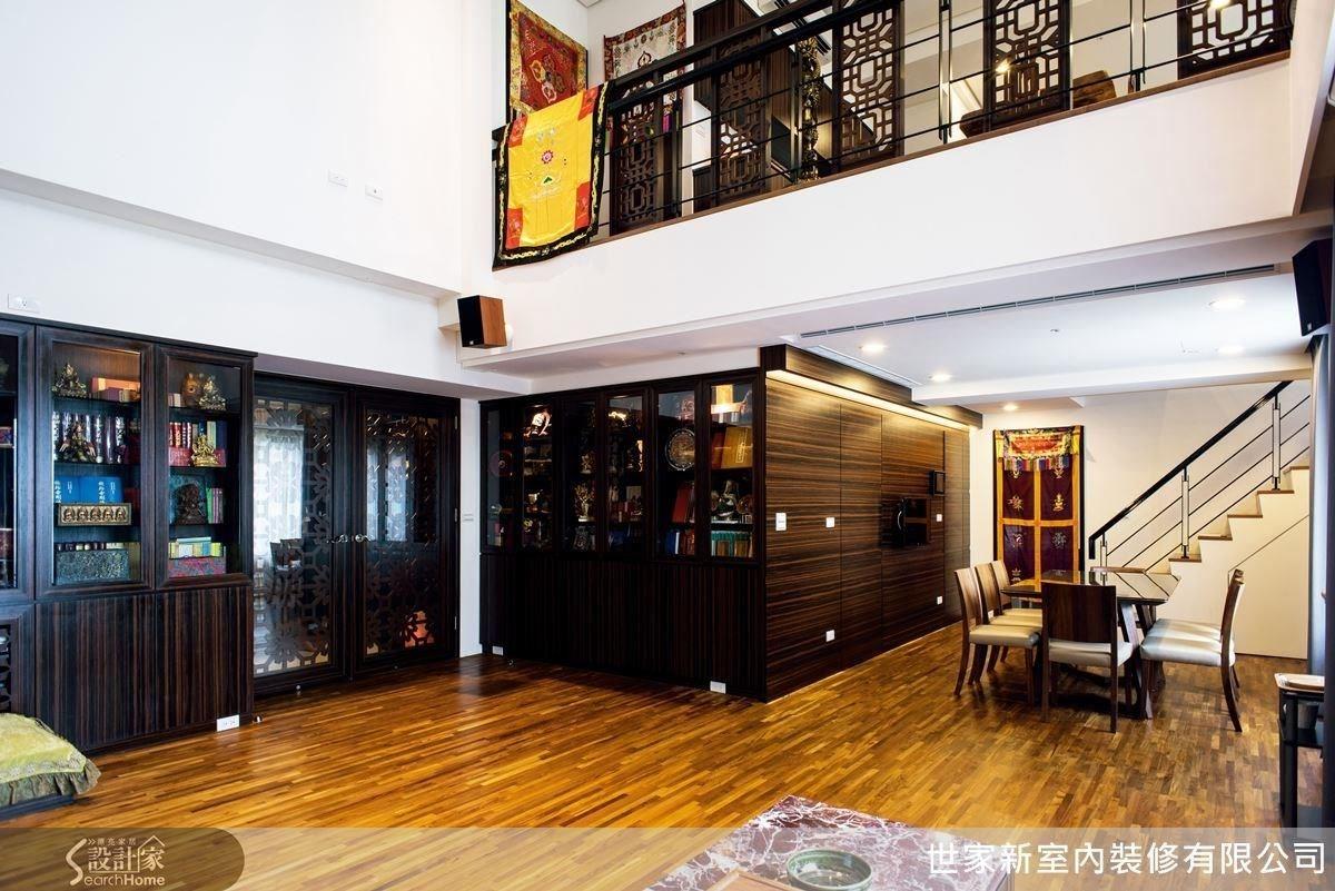 60坪新成屋(5年以下)_新中式風案例圖片_世家新室內裝修有限公司_世家新_09之3
