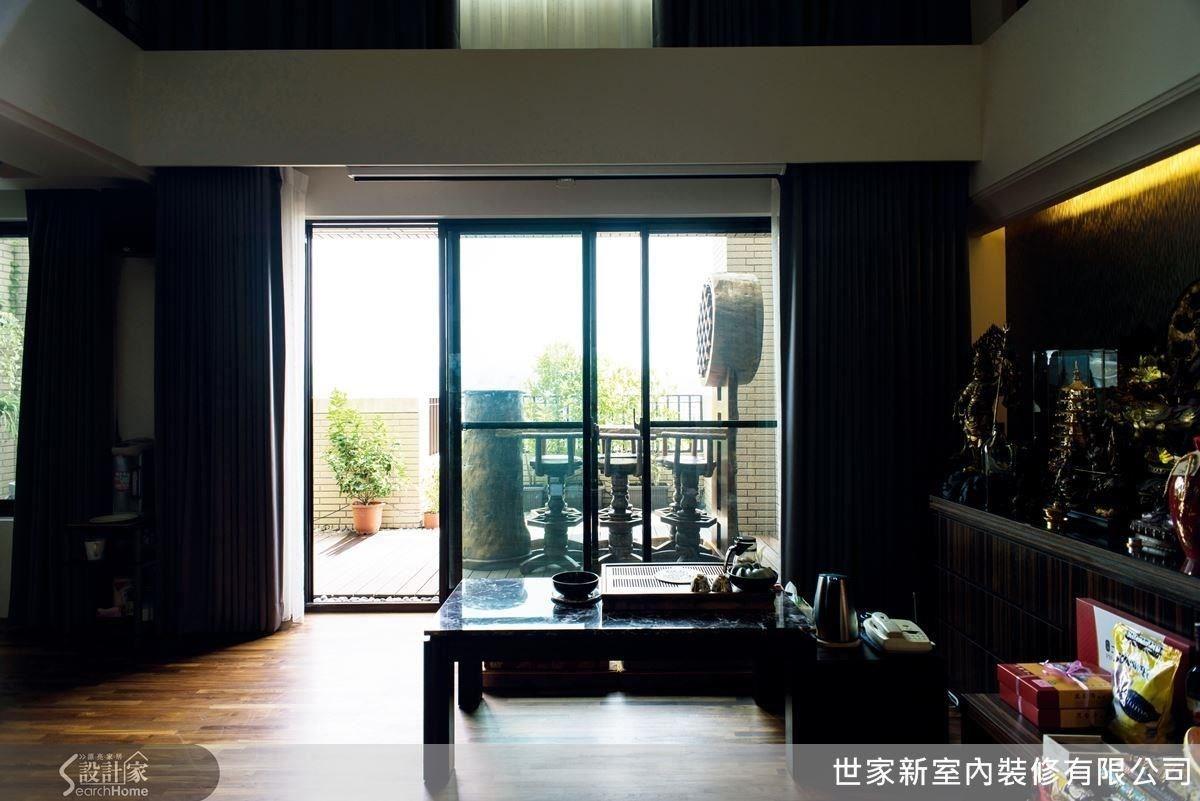 60坪新成屋(5年以下)_新中式風案例圖片_世家新室內裝修有限公司_世家新_09之5