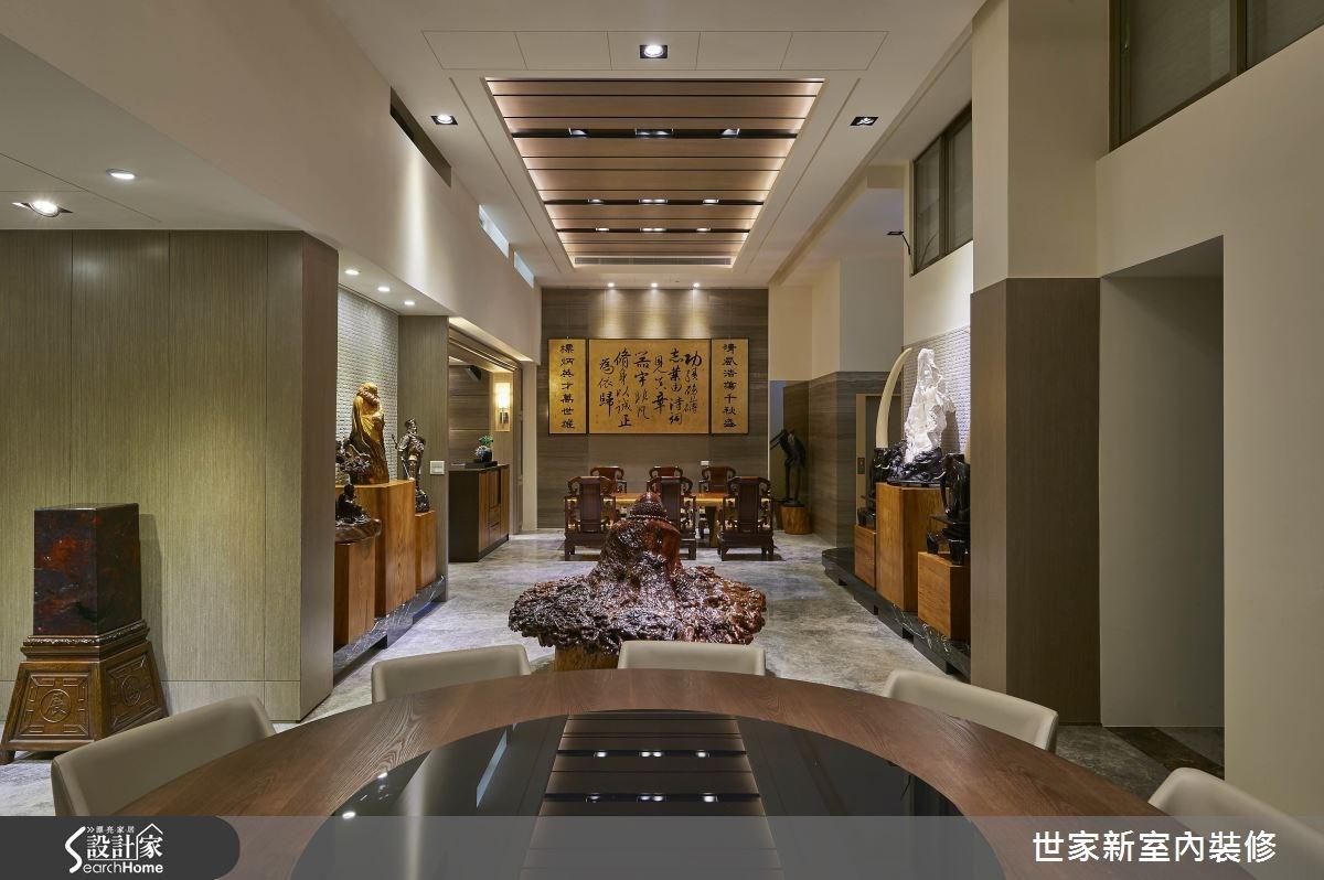 70坪老屋(16~30年)_新中式風餐廳案例圖片_世家新室內裝修有限公司_世家新_10之4
