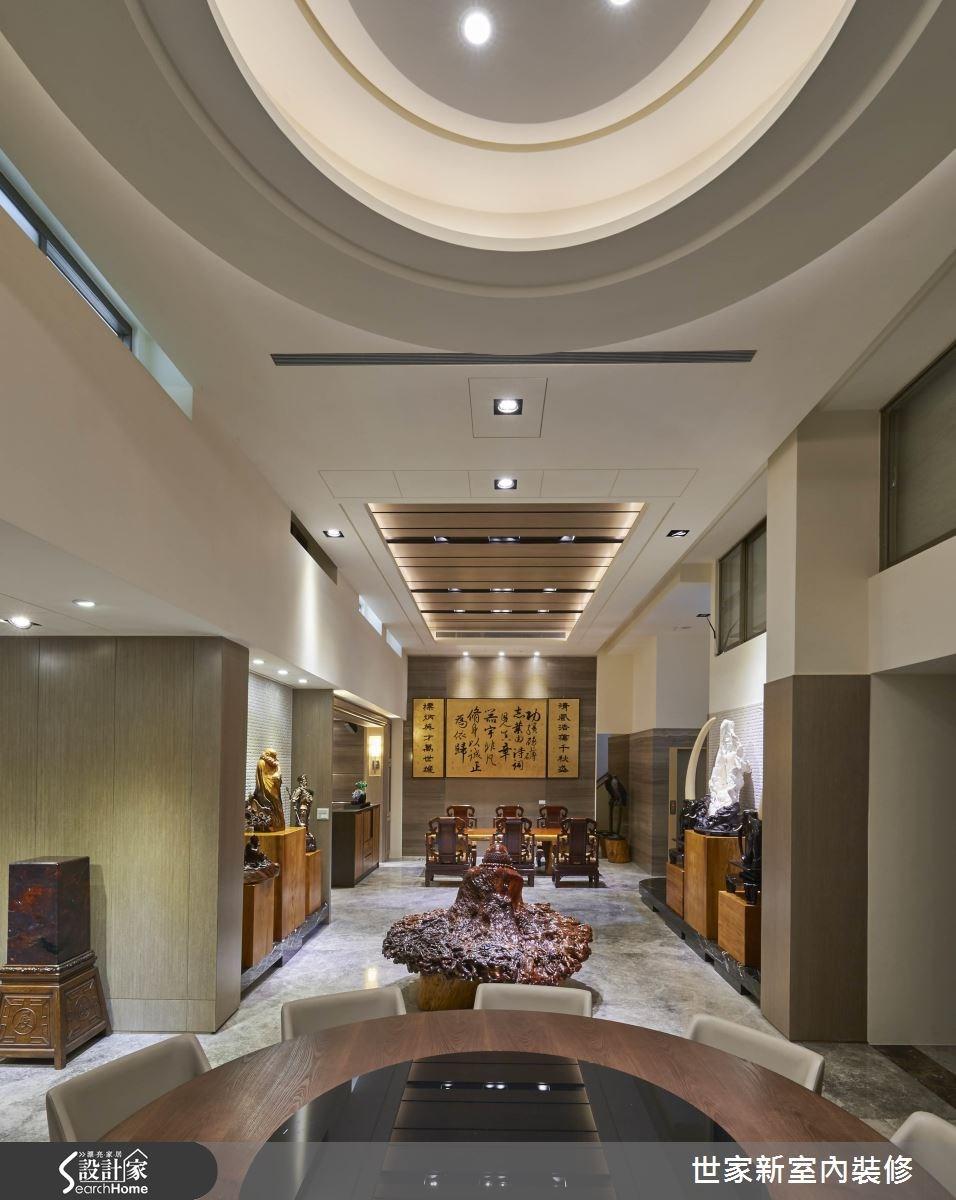 70坪老屋(16~30年)_新中式風餐廳案例圖片_世家新室內裝修有限公司_世家新_10之5