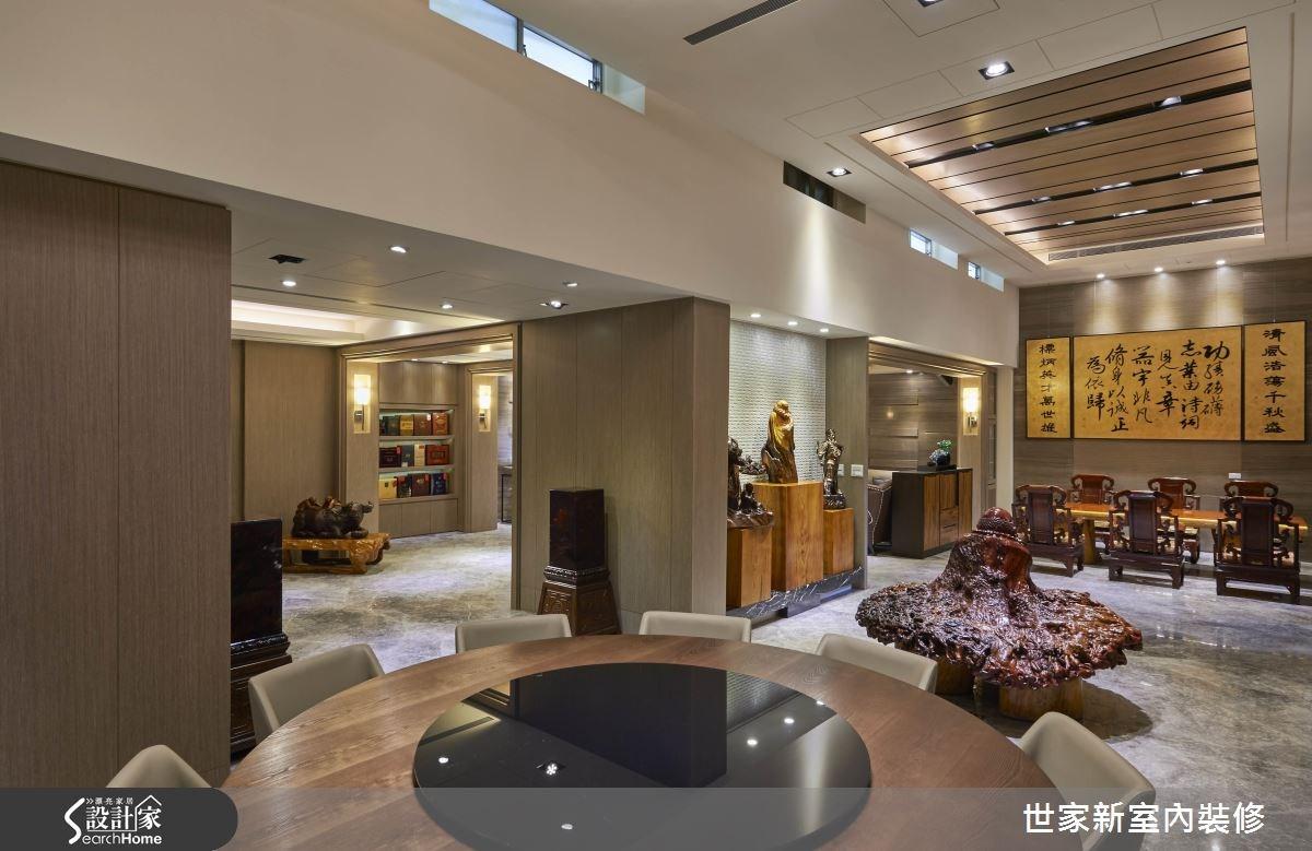 70坪老屋(16~30年)_新中式風餐廳案例圖片_世家新室內裝修有限公司_世家新_10之6