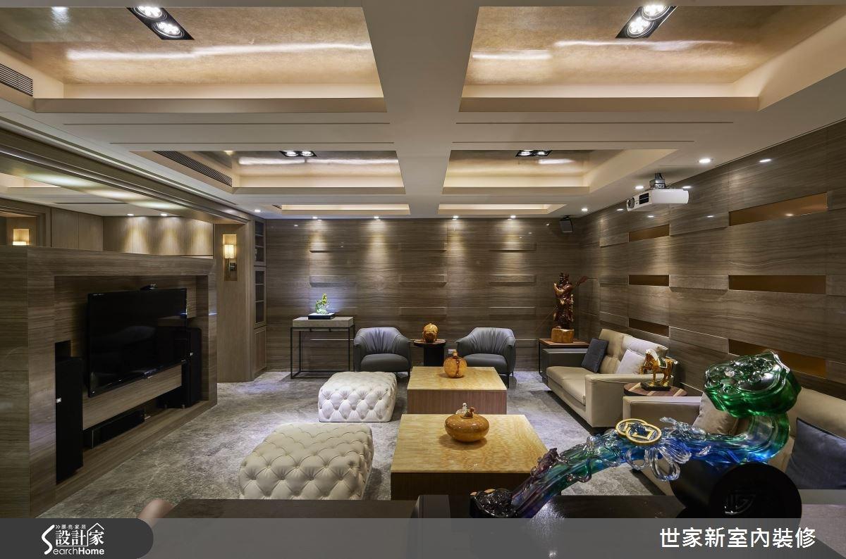 70坪老屋(16~30年)_新中式風客廳案例圖片_世家新室內裝修有限公司_世家新_10之10